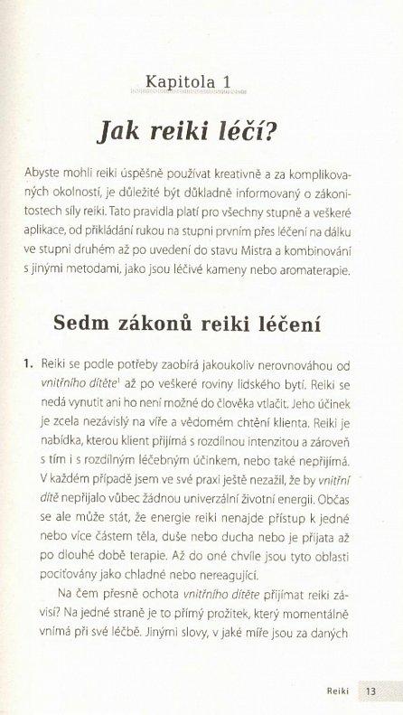 Náhled Reiki - Domácí lékárna