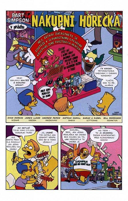 Náhled Simpsonovi - Bart Simpson 3/2016 - Mistr iluzí