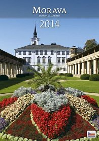 Kalendář 2014 - Morava - nástěnný