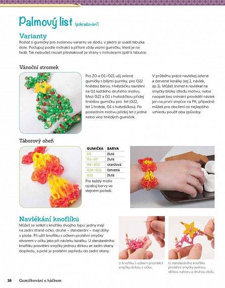 Náhled Gumičkování s háčkem - Super náramky, náhrdelníky a čelenky uháčkované z gumiček