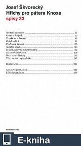 Hříchy pro pátera Knoxe  (spisy - svazek 33) (E-KNIHA)