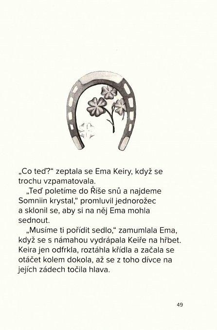 Náhled Ema a jednorožec - Tajemství krystalu