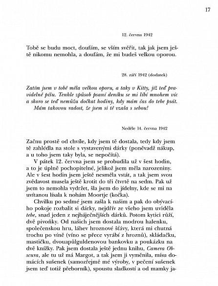 Náhled Zadní dům - Deník v dopisech 12. červen 1942 - 1. srpen 1944