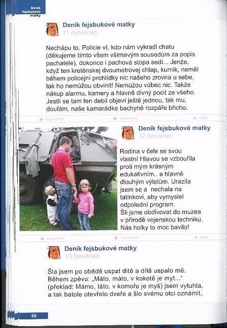 Náhled Deník fejsbukové matky