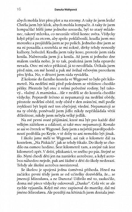 Náhled Touhy a tajemství - Život po boku Lecha Walesy; Paměti první dámy Polska