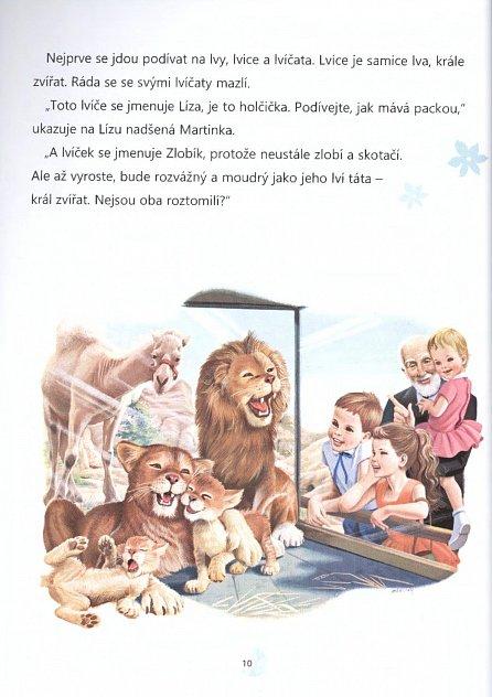 Náhled Martinka - krátké příběhy na cestu do postýlky