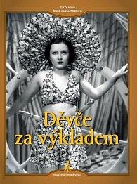 Děvče za výkladem - DVD (digipack)