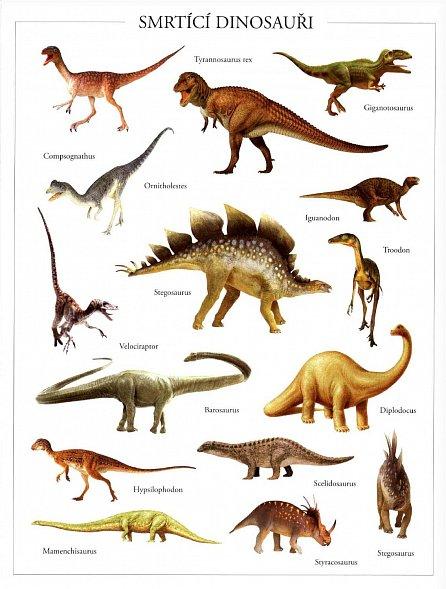 Náhled Nebezpeční dinosauři - Samolepková knížka
