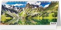Kalendář stolní 2015 - Svět hor