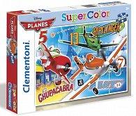 Puzzle Supercolor Letadla 2x20 dílků