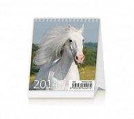Kalendář 2014 - Mini Horses - stolní