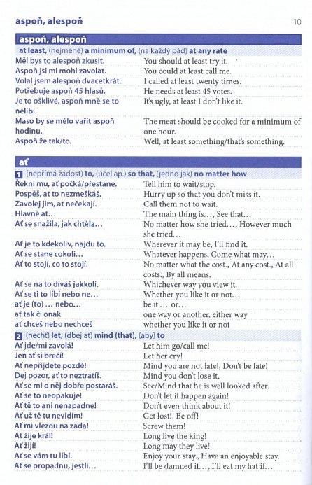 Náhled Česko-anglický mluvník ... rozvažte si jazyk