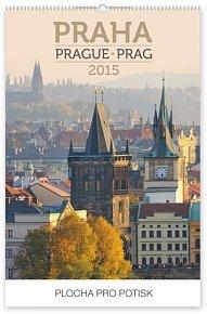 Kalendář 2015 - Praha Praktik - nástěnný s prodlouženými zády
