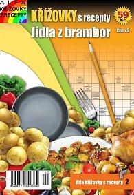 Křížovky s recepty 2 - Jídla z brambor