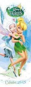 Kalendář 2015 - Disney Víly/Disney Fairies (149x420)