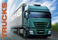 Kalendář nástěnný 2016 - Trucks