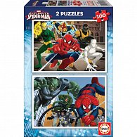 Puzzle Ultimate Spider-Man 2v1 100 dílků