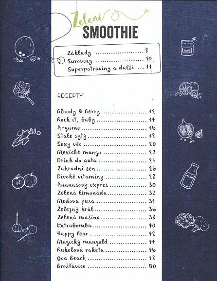 Náhled Barevné smoothie - Rychlé a zdravé