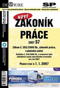Zákoník práce Právní stav k 1.1.2007