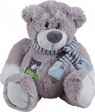 Plyšový medvídek s šálou