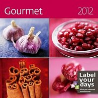 Kalendář nástěnný 2012 - Gourmet