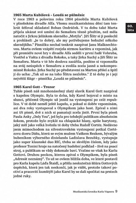 Náhled Muzikantská kronika Karla Vágnera - od 60. let do současnosti