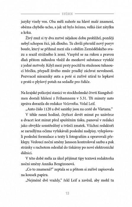 Náhled Annika Bengtzonová 3: Svědek
