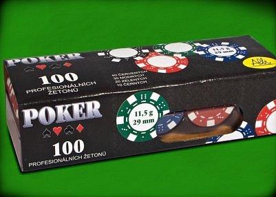 Náhled Poker-100 žetonů