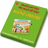Roční období - Hravé kartičky pro malé dětičky 4