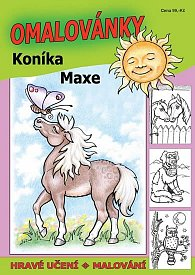 Omalovánky koníka Maxe