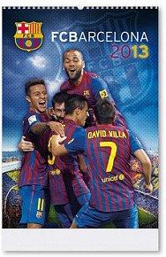 FC Barcelona 2013 - nástěnný kalendář