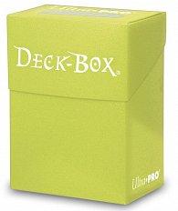 UltraPRO: Solid Deck Box - světle žlutá