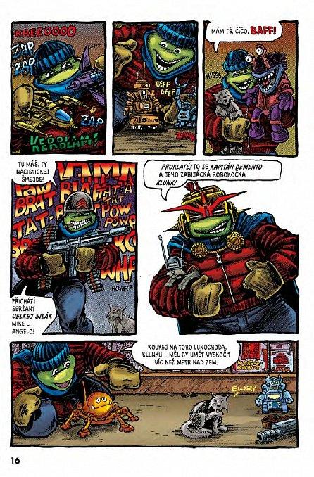 Náhled Želvy Ninja - Menu číslo 3