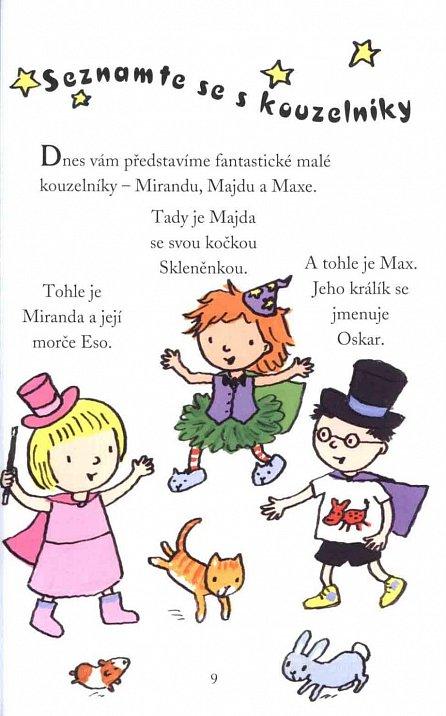 Náhled Tři malí kouzelníci