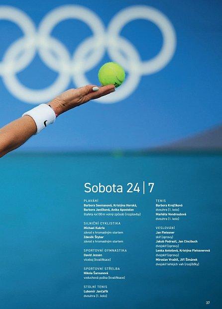 Náhled Tokio 2020 - Oficiální publikace Českého olympijského výboru