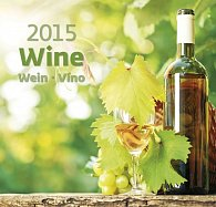Kalendář nástěnný 2015 - Víno