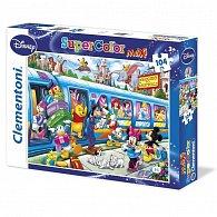 Puzzle Maxi Disney vlak 104 dílků