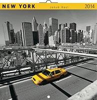 Kalendář 2014 - New York Jakub Kasl - nástěnný poznámkový (ANG, NĚM, FRA, ITA, ŠPA, HOL)