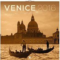 Kalendář nástěnný 2016 - Benátky, poznámkový  30 x 30 cm
