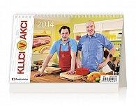 Kalendář 2014 - Kluci v akci - stolní