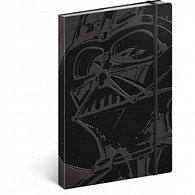 Notes - Star Wars/Darth Vader, nelinkovaný, 13 x 21 cm