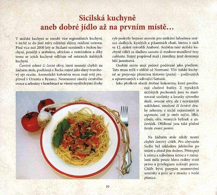 Náhled Sicilská kuchyně - Recepty na jednoduché, rychlé a zdravé pokrmy ze surovin dostupných i u nás