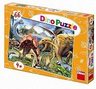 Dinosauři - puzzle 66 dílků