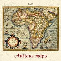 Antique Maps - nástěnný kalendář 2013