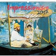 Kalendář nástěnný 2017 - Impresionismus