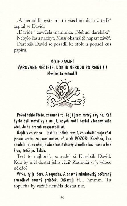 Náhled Darebák David čaruje