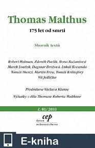 Thomas Malthus: 175 let od smrti (E-KNIHA)