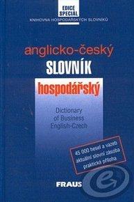 Česko-anglický slovník hospodářský