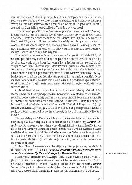 Náhled Panorama české literatury 1 (do roku 1989)