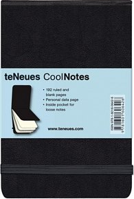 Zápisník CoolNotes Black/Black Flip Pad